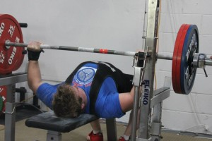Nick Dorn 170kg Powerlifting Competition Bench