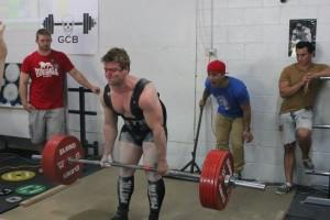 Nick Dorn 275kg Deadlift