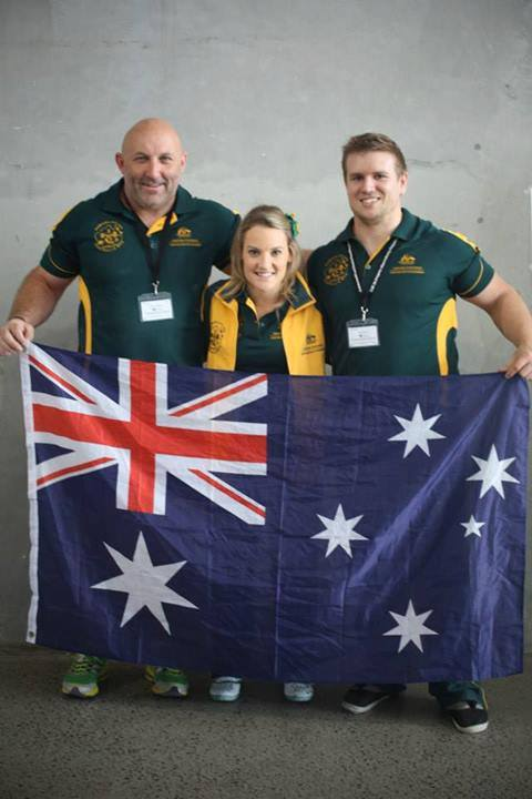 Australian Powerlifting Team Coach