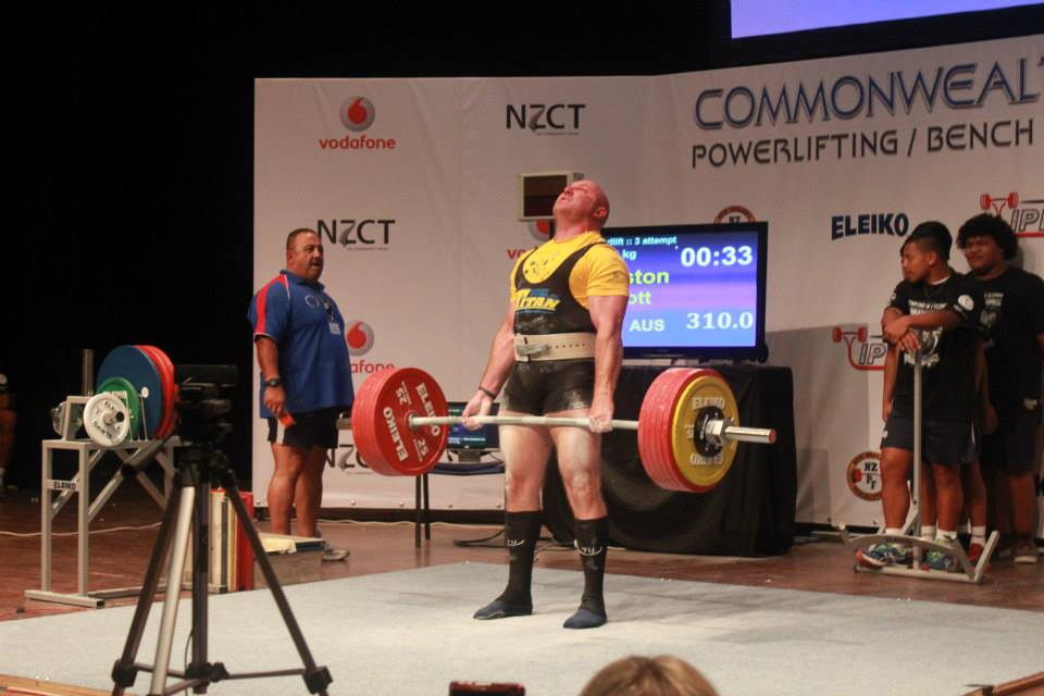 Scott Upston Brisbane Powerlifting Coach